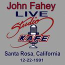 John Fahey LIVE At Studio KAFE thumbnail