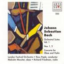 Bach: Orchestral Suites Vol. 1 No. 1+2 Concerto For Oboe And Violin thumbnail