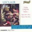 Leclair: Violin Concertos, Vol.1 (Concertos Op. 7, Nos. 2 & 5; Concertos Op. 10, Nos. 1 & 5) - Collegium Musicum 90 thumbnail