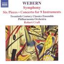Webern: Symphony; Six Pieces; Concerto for 9 Instruments thumbnail