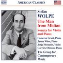 Stefan Wolpe: The Man from Midian; Sonata for violin & piano thumbnail